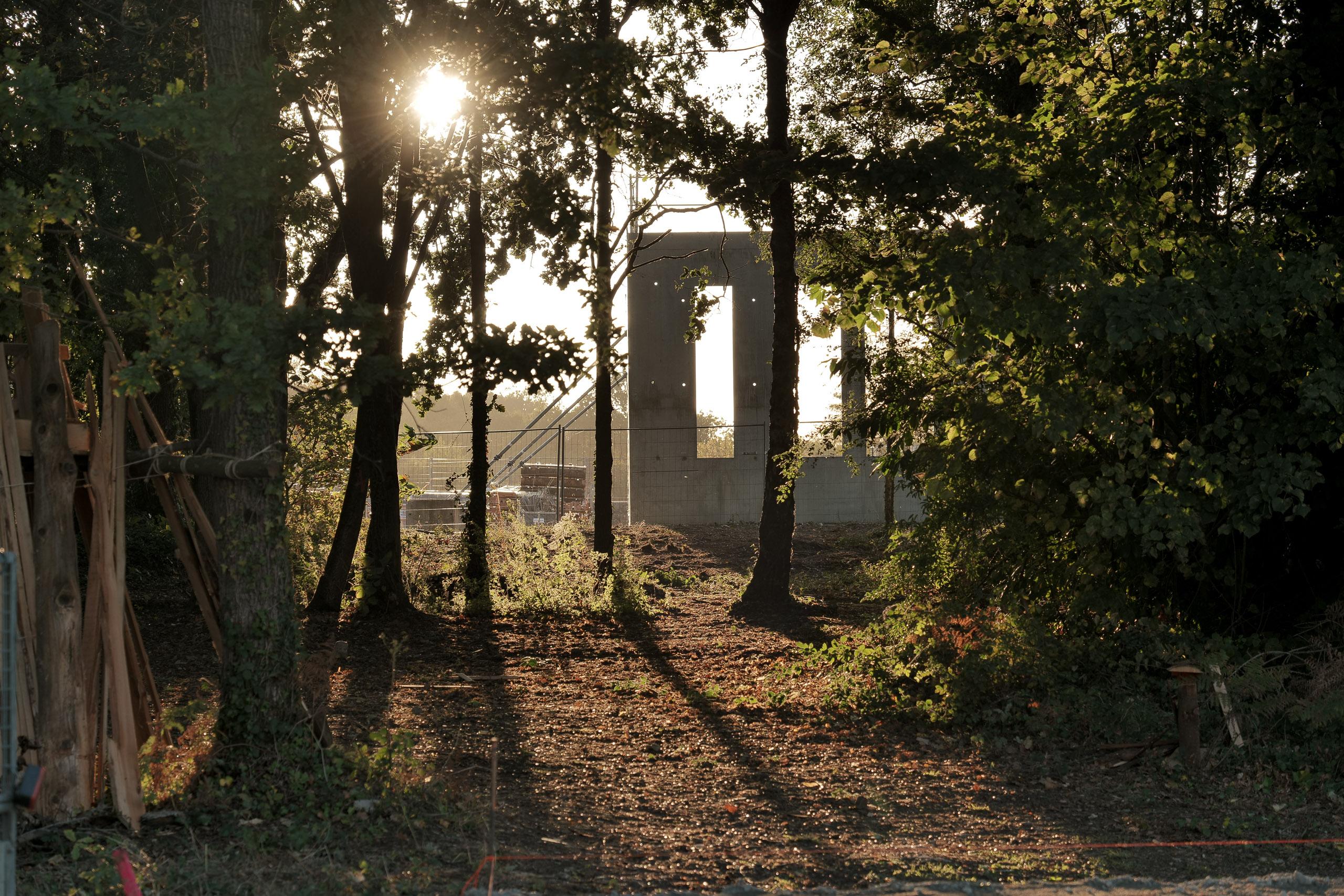 Zone cabanes La Poudrière ©2020 Cellebrek