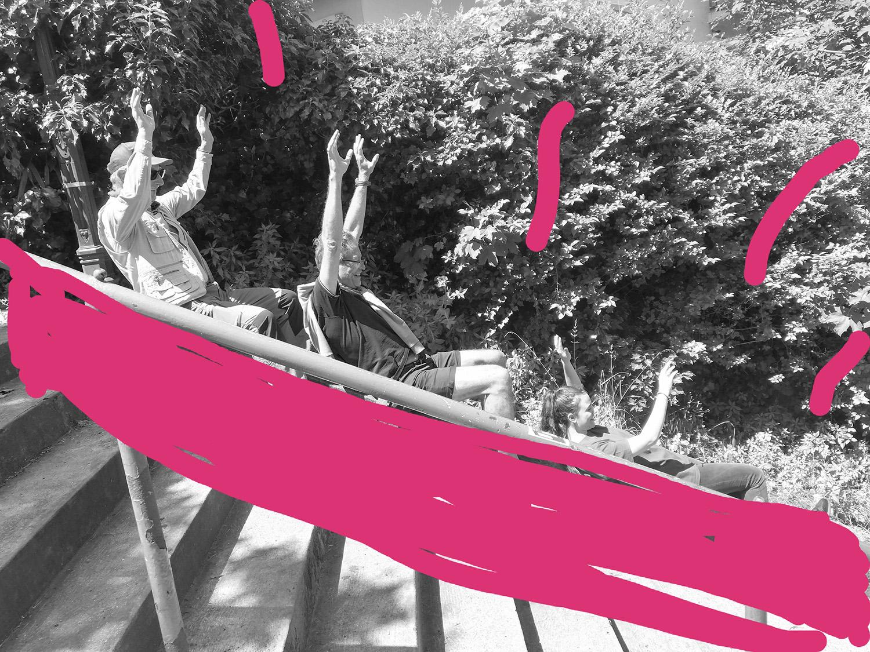 Grande glissade #ParcdesHauteurs #LesLilas #EstEnsemble #PlateauPhoto