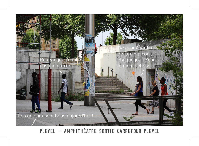 Cartes postales réalisées avec l'Antenne jeunesse © GONGLE, Cuesta