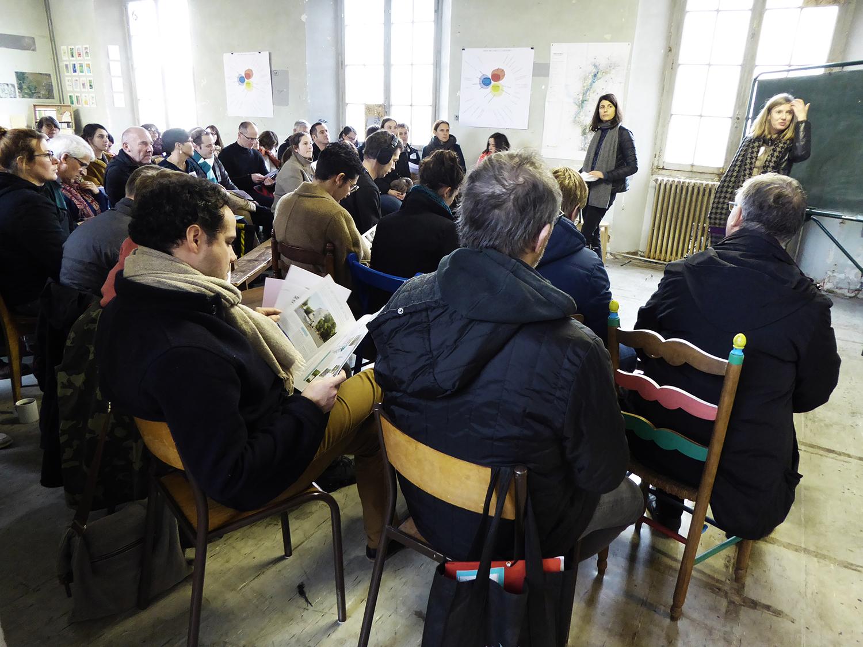 Accélérateur pour la définition des projets collectifs de l'Année de la Vilaine © Cuesta