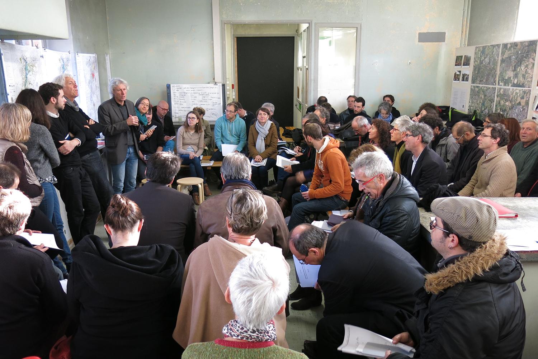 Séminaire à l'hôtel pasteur, décembre 2015 © Léa Muller