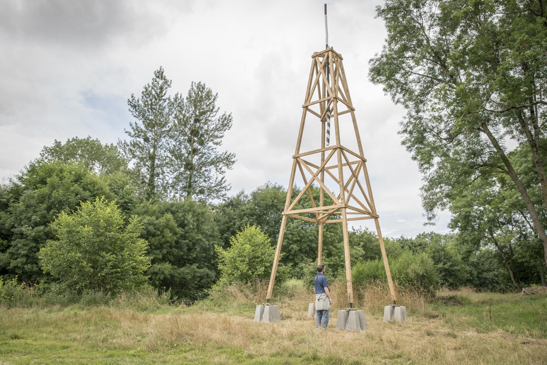 Prototype signalétique, traversée du sud de la Vallée de la Vilaine © Nicolas Joubard