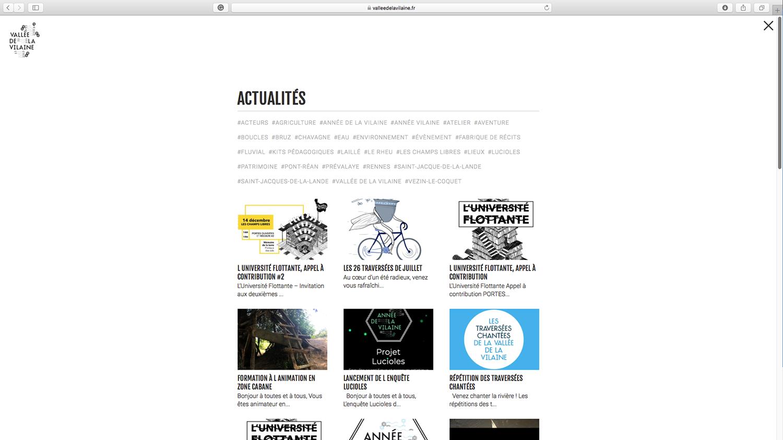 Le site web © Cuesta