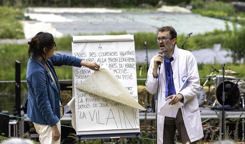 Jaillissement#1, conférence sur la psychanalyse de Rennes Métropole par l'ANPU © Pascale Limarola-Bilik