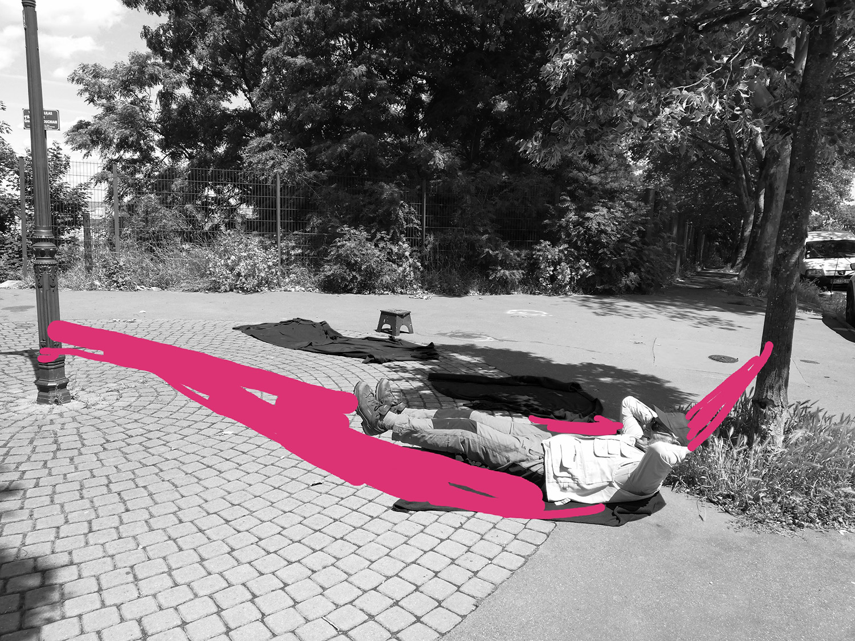 S'allonger dans un hamac #ParcdesHauteurs #LesLilas #EstEnsemble #PlateauPhoto