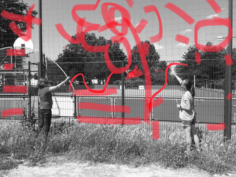 Dessiner #ParcdesHauteurs #Noisylesec #EstEnsemble #PlateauPhoto