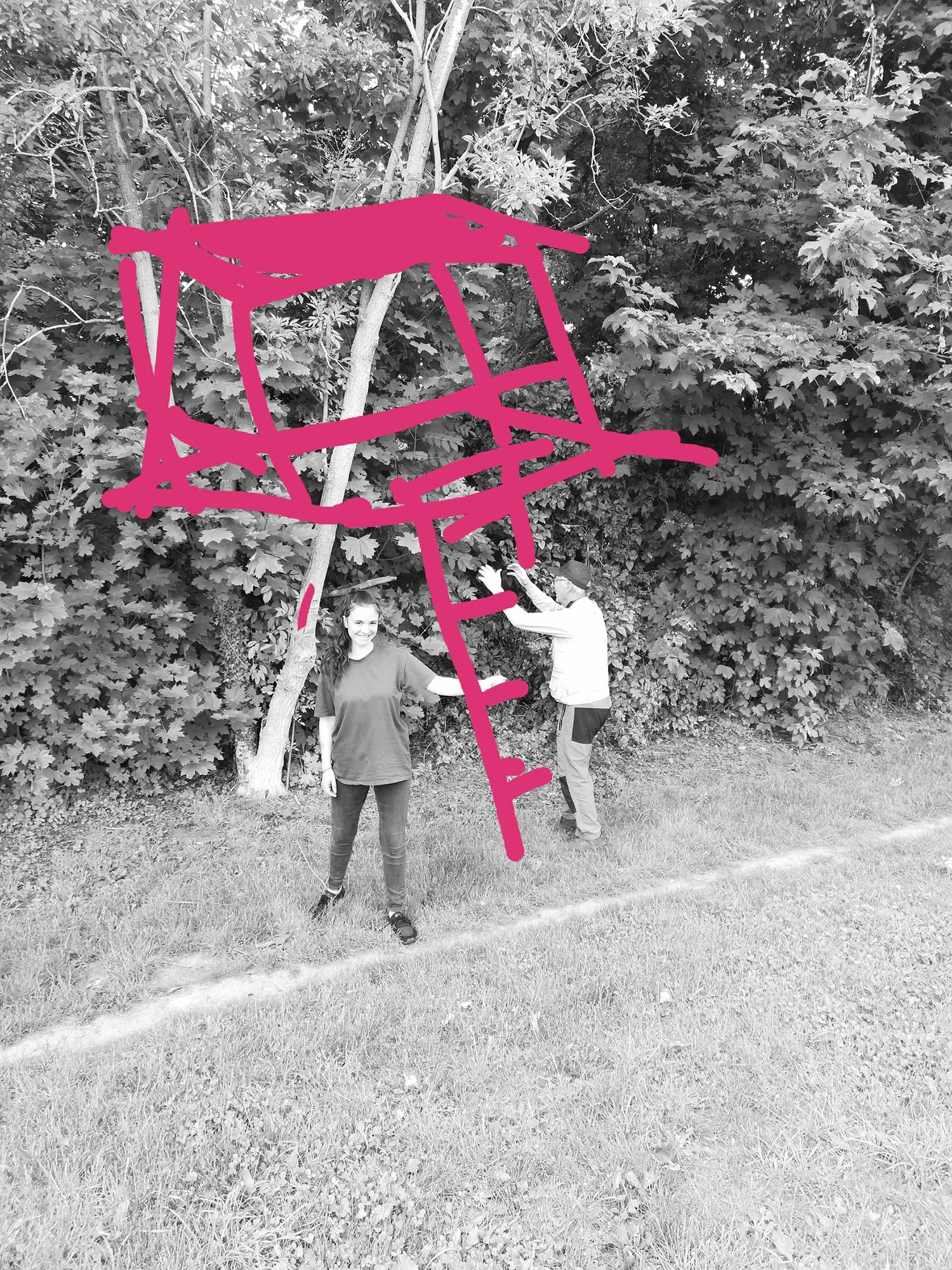 Ma cabane aux Lilas #ParcdesHauteurs #LesLilas #EstEnsemble #PlateauPhoto