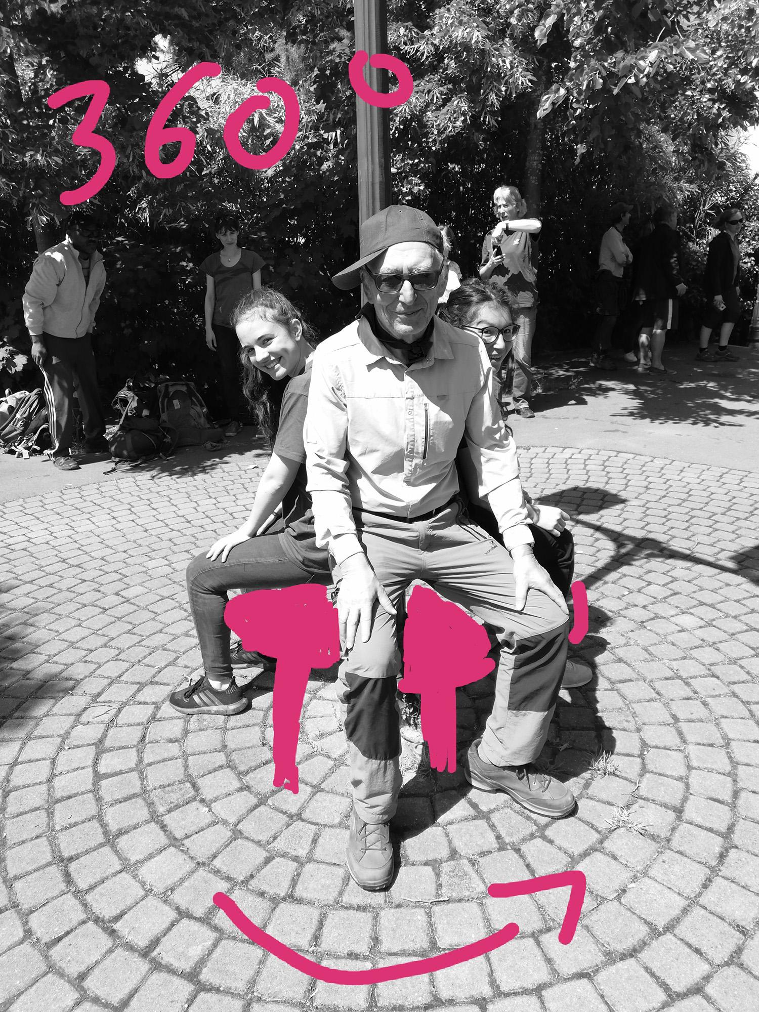 Banc tournant #ParcdesHauteurs #LesLilas #EstEnsemble #PlateauPhoto