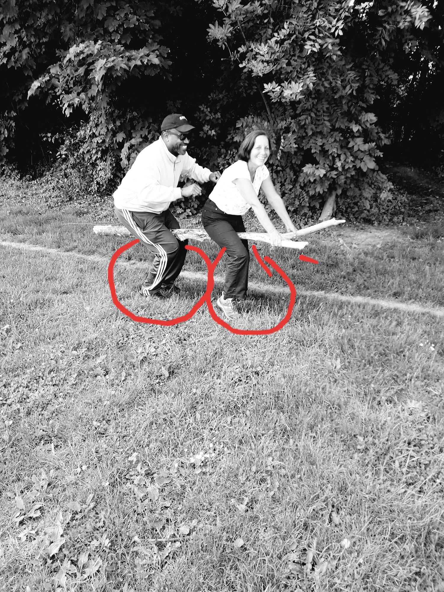 Faire du cyclo #ParcdesHauteurs #Romainville #EstEnsemble #PlateauPhoto