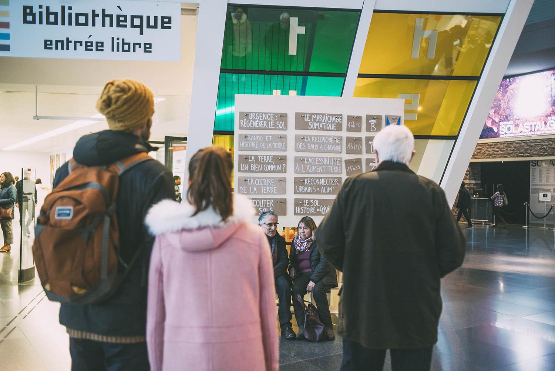 Champs Libres, décembre 2019 © L. Quignon