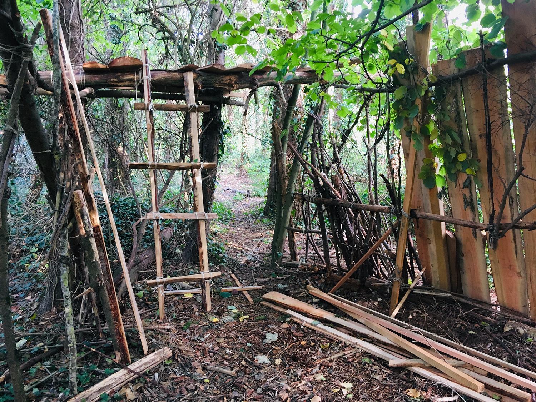 Le Bois des cabanes © Cuesta