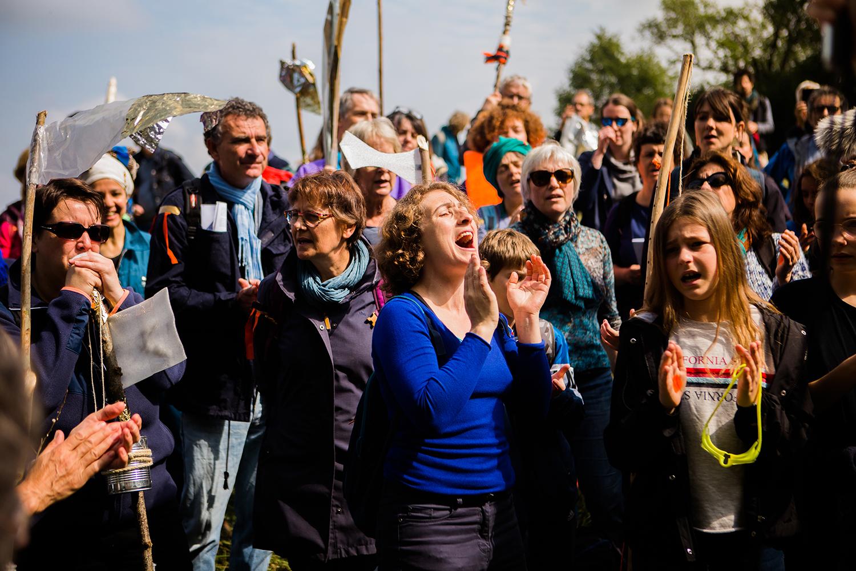 Traversée chantée à Laillé, mai 2019 © Claire Huteau